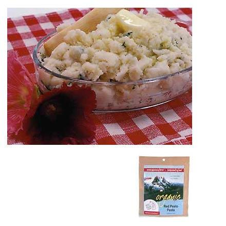 photo: Mary Janes Farm Organic Spuds w/Spinach & Cheese vegetarian entrée