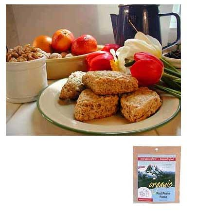 photo: Mary Janes Farm Organic Scones w/Walnuts &amp; Orange Peel