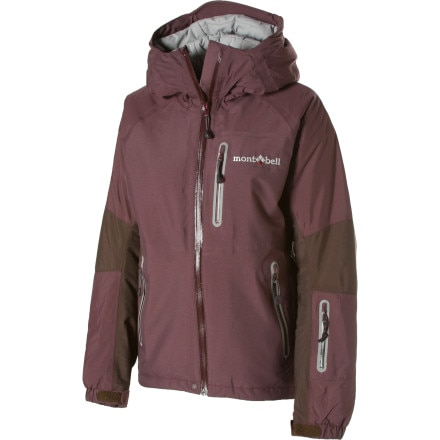 photo: MontBell Women's Powder Light Parka synthetic insulated jacket