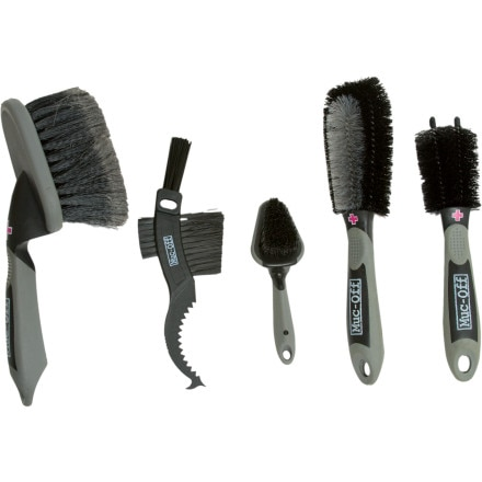 Muc-Off 5 Piece Bike Cleaning Brush Set