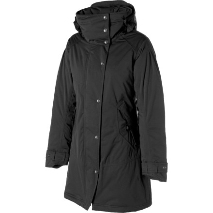 photo: Nau Splendor Trench Coat down insulated jacket