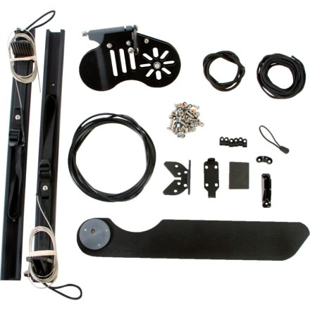 photo: Necky Single Touring Rudder Kit
