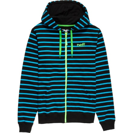 Neff Daily Stripe Full-Zip Hoodie - Men's