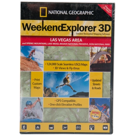 photo: National Geographic Weekend Explorer 3-D - Boise Area CD-ROM us mountain states map application