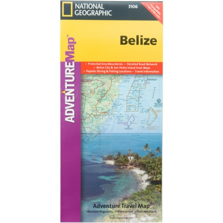 photo: National Geographic International Adventure Map international paper map