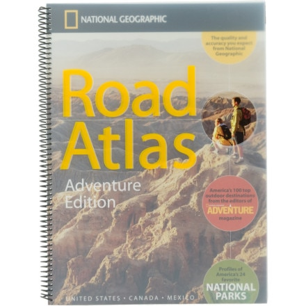 National Geographic Maps: Trails Illustrated Road Atlas: Adventure Edition