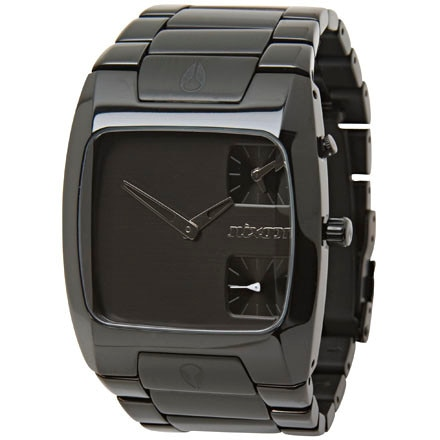 Nixon The All Black Banks Watch - Men's