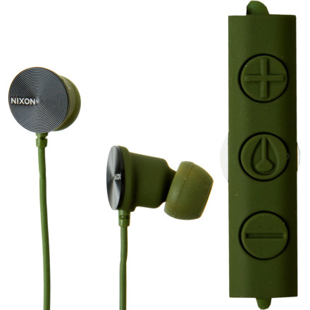 Nixon Wire 3-Button Mic Headphones