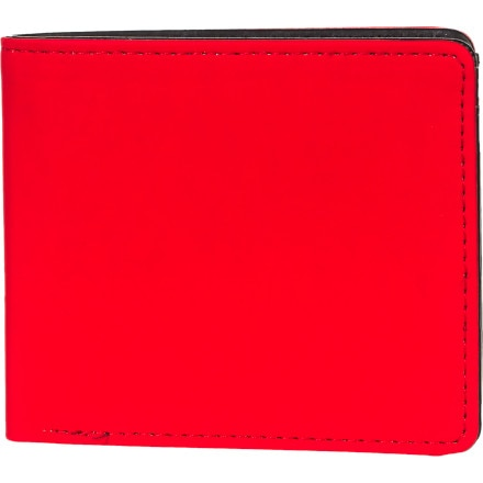 Nixon Rubber Fuller Bi-Fold Zip Wallet - Men's