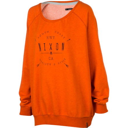 Nixon Captivated Crew II Sweatshirt - Women's