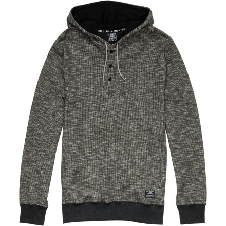 Nike Waffle Henley Pullover Hoodie - Men's
