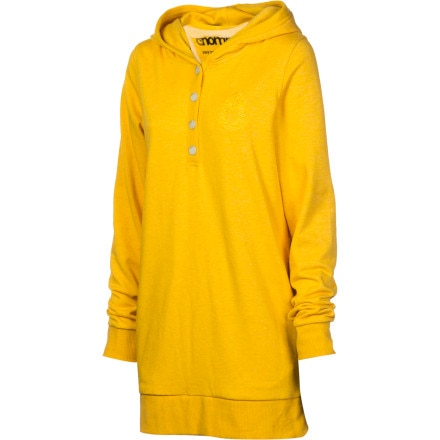 Nomis Mellow Tall Henley Pullover Hoodie - Women's