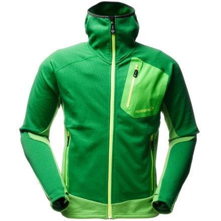 photo: Norrona Men's Lyngen Warm2 Stretch Jacket fleece jacket