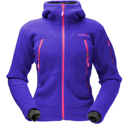 photo: Norrona Women's Narvik Warm3 Zip Hood