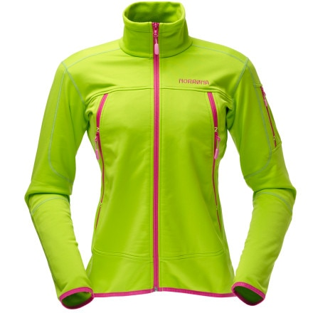 photo: Norrona Women's Narvik Warm2 Stretch Jacket fleece jacket