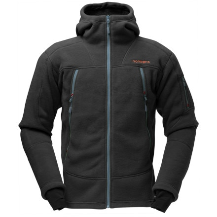 photo: Norrona Narvik Warm3 Zip Hood fleece jacket