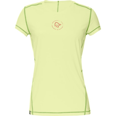 photo: Norrona Women's /29 Tech Tee short sleeve performance top