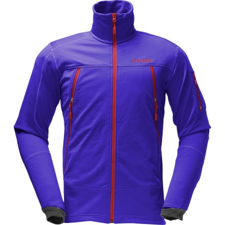 photo: Norrona Men's Narvik Warm2 Stretch Jacket fleece jacket
