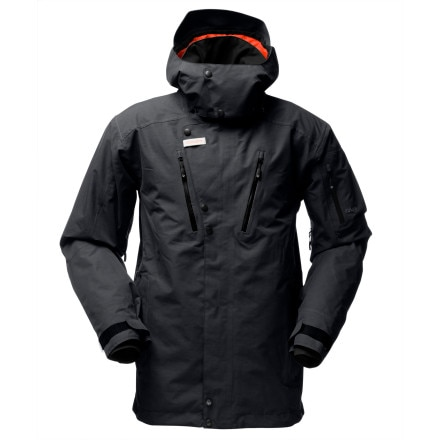 photo: Norrona Men's Roldal Gore-Tex Performance Shell Insulated Jacket snowsport jacket