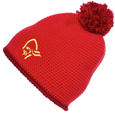photo: Norrona /29 Crochet Beanie w/PomPom winter hat