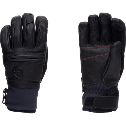 photo: Norrona rldal dri insulated Short Leather Gloves