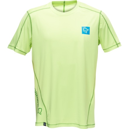 photo: Norrona Men's /29 Tech Tee short sleeve performance top