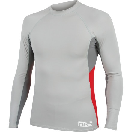NRS HydroSilk Rash Guard - Long-Sleeve - Men's