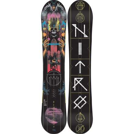 Nitro Blacklight Gullwing Snowboard