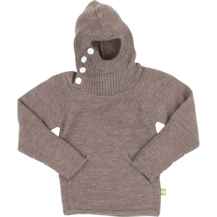 Nui Organics About Face Hoodie - Toddler Girls'
