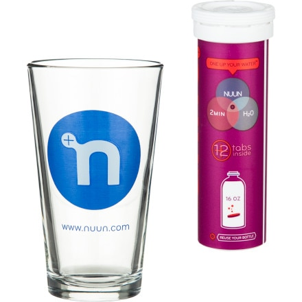 Nuun Pint Glass Combo