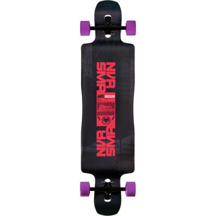 Never Summer Hooligan Complete Longboard
