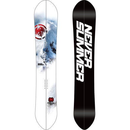 Never Summer Summit Split Snowboard