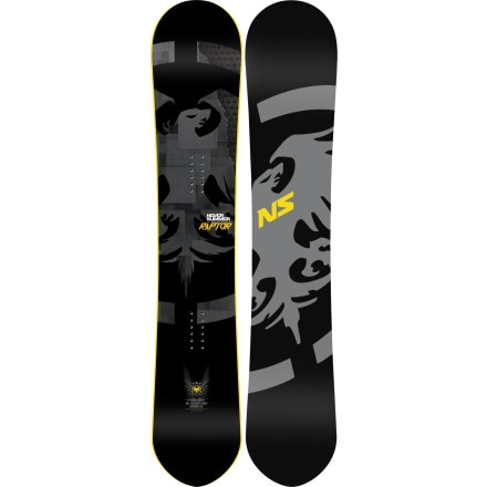 Never Summer Raptor X Snowboard - Wide