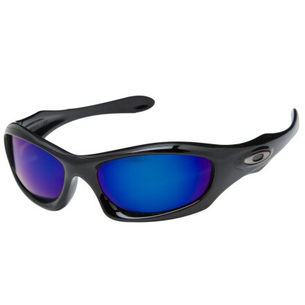 Oakley Monster Dog Polished Black Sunglasses - Polarized