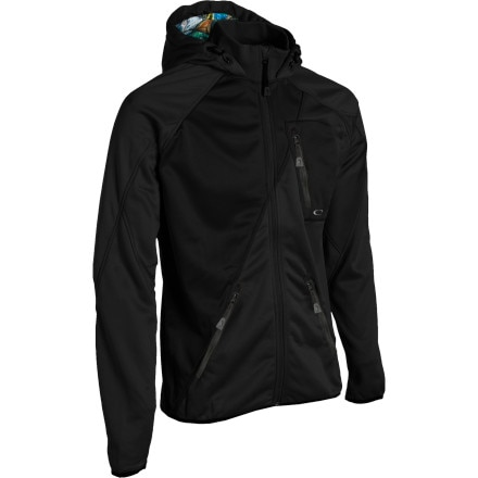 photo: Oakley Blunt Force Full-Zip Hoody fleece jacket