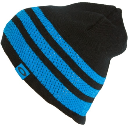 photo: Oakley Single Layer Stripe Beanie winter hat