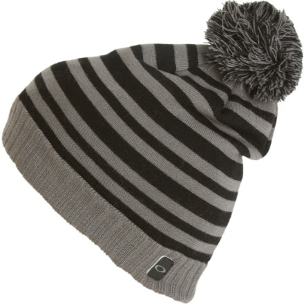 photo: Oakley Merino Wool Stripe Beanie winter hat
