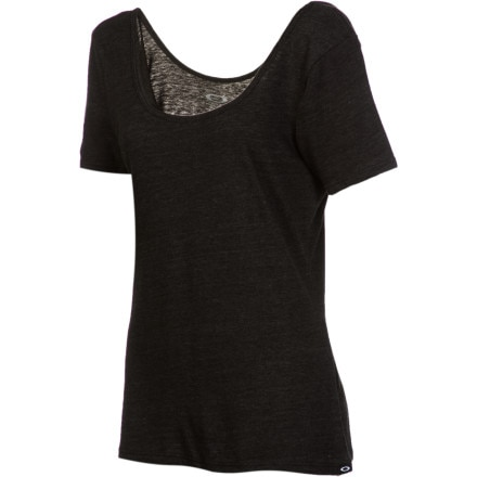 Oakley Shiver Scoop-Neck Top - Short-Sleeve - Women's