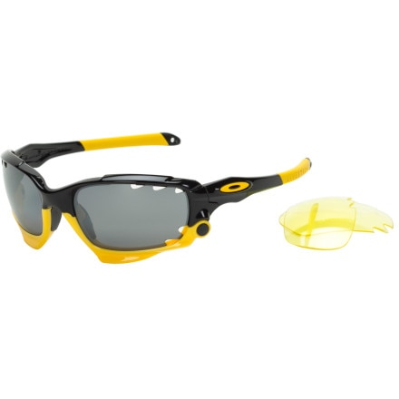 Oakley LiveStrong Racing Jacket Sunglasses - Polarized