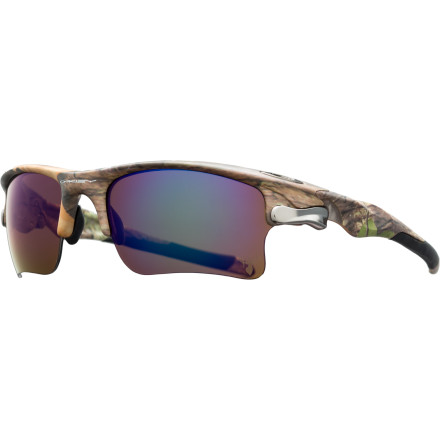 Oakley Fast Jacket XL King's Woodland Camo Edition Sunglasses - Polarized
