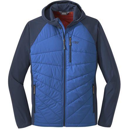 Refuge Hybrid Hooded Jacket - Men's