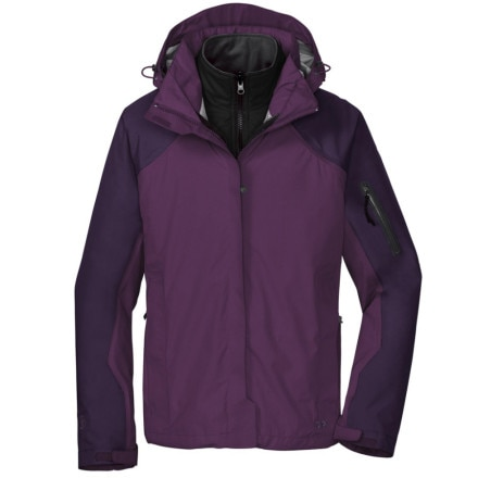 photo: Outdoor Research Varia Jacket component (3-in-1) jacket