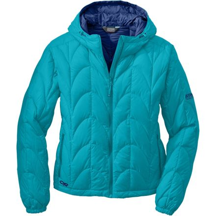 Aria Down Hooded Jacket - Women's