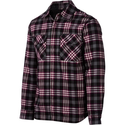 Orage Fud Quilted Flannel Shirt - Long-Sleeve - Men's