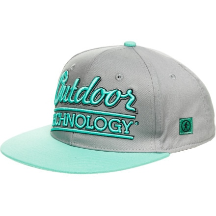 Outdoor Tech Old School Snap-Back Hat