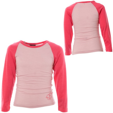 photo: Outside Baby Girls' Merino Top base layer top