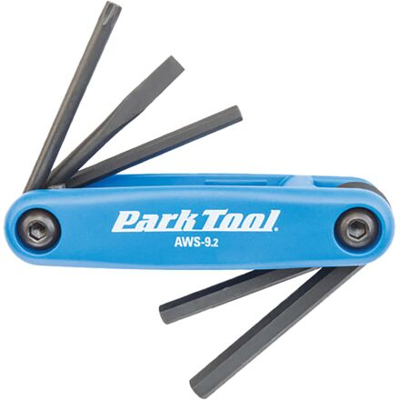 Park Tool Hex/Phillips/Flathead Folding Tool Set - AWS-9C