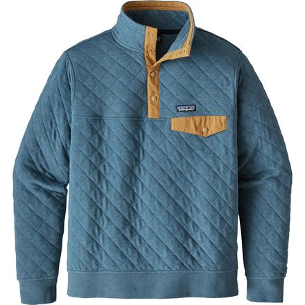 Patagonia Cotton Quilt Snap T Fleece Pullover Men S Up
