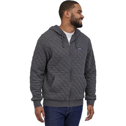 Organic Cotton Quilt Full-Zip Hoodie - Men's