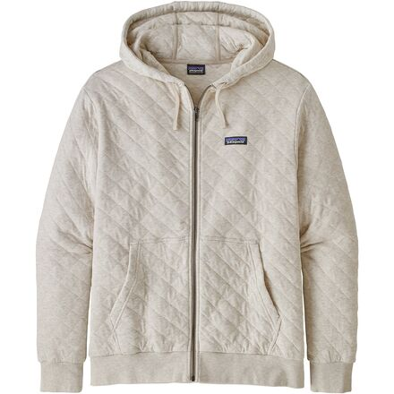 Organic Cotton Quilt Full-Zip Hoodie - Men's